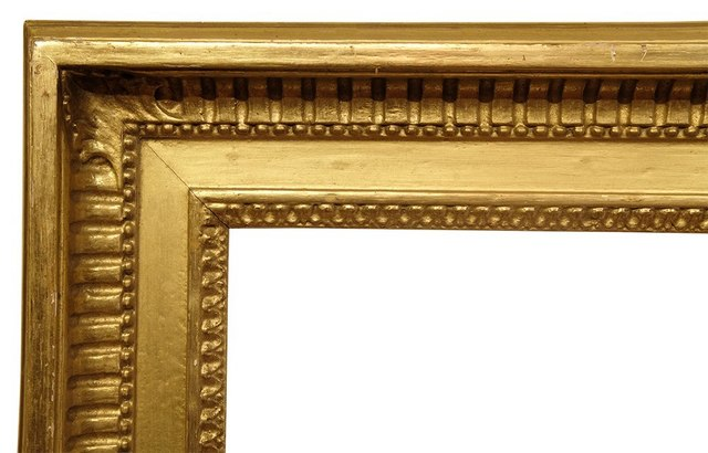 , 'Fluted Cove Gilded Custom Frame, 20th C (32.5x46.5),' 20th Century, Susquehanna Antique Company