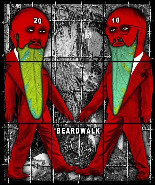 , 'Beardwalk,' 2016, Alfonso Artiaco