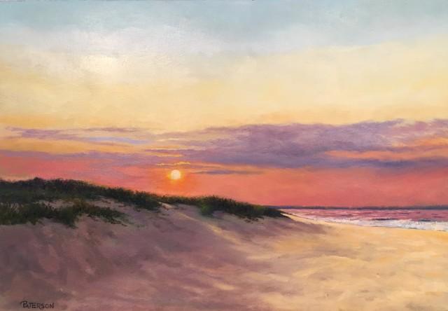 , 'Lewes Sunset,' 2017, Peninsula Gallery