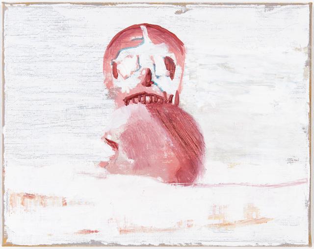 , 'Vagabondages (Deux crânes roses),' 2012, Galerie Peter Kilchmann