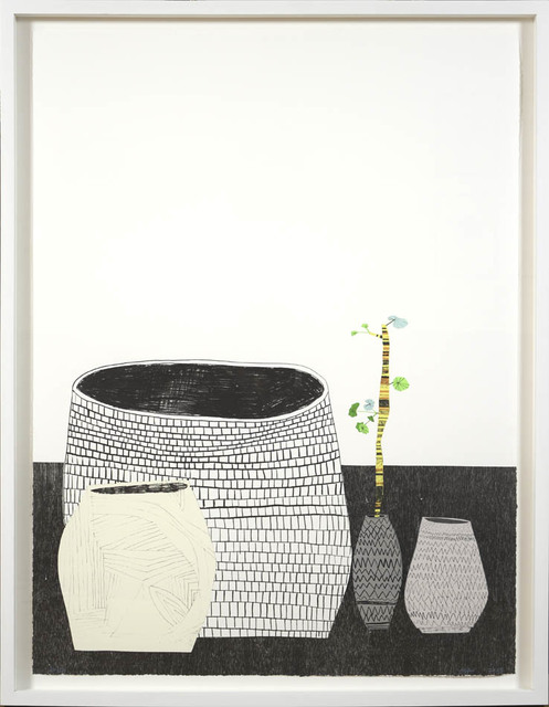 Jonas Wood, 'Untitled', 2009, Print, Lithograph, Silkscreen, Shapero Modern