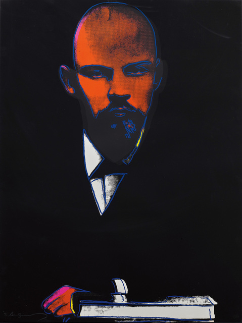 Andy Warhol, 'Lenin', 1987, Print, Screenprint in colours, on Arches 88 paper, the full sheet., Phillips