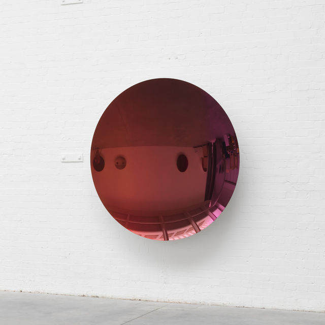 , 'Mirror (Apple and Lime Gold to Pink and Wild Cherry),' 2016, Galleria Massimo Minini