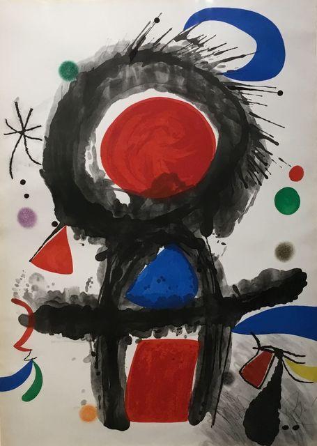 Joan Miró, 'Pic De La Mirandole (D761).', 1975, Off The Wall Gallery