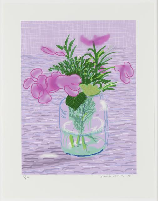 David Hockney, 'Untitled', 2010, Leslie Sacks Gallery