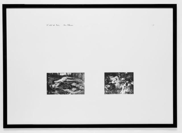 Jan Vercruysse, 'L'Art de Voir, Les Choses n°3', 1977, Vistamare/Vistamarestudio