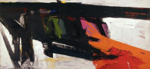 Franz Kline, 'Orange and Black Wall', ARS/Art Resource
