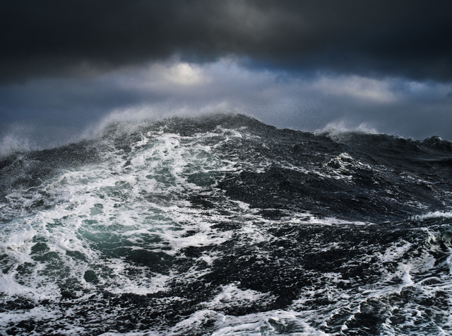 , 'Dark Sea,' 2017, Richard Heller Gallery