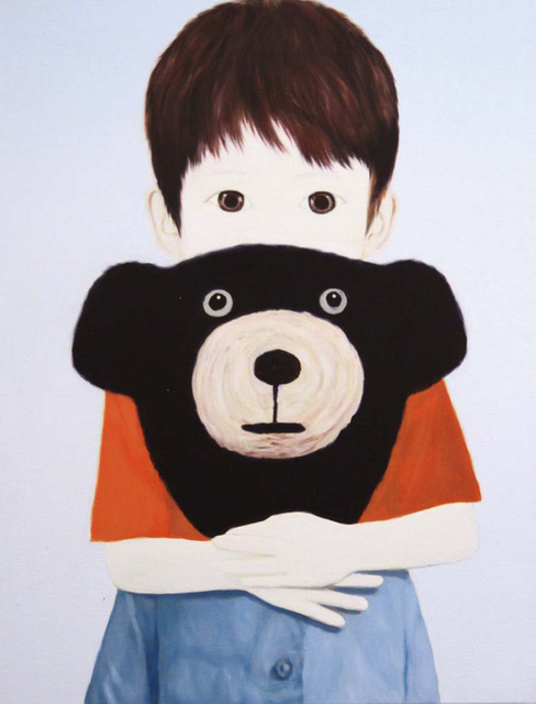 , 'Bear and Boy,' 2014, Gallery J-one