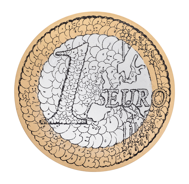, '1 Euro,' 2017, KOLLY GALLERY