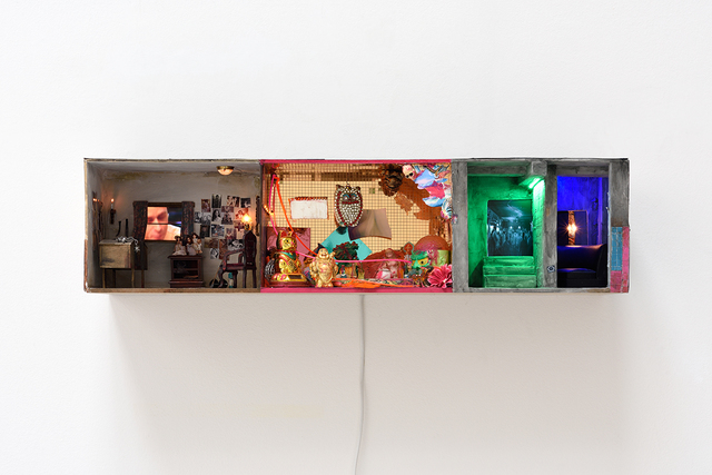 , 'Serial Killer Room, Fantasy Mirror Room, Club,' 2018, Studio la Città