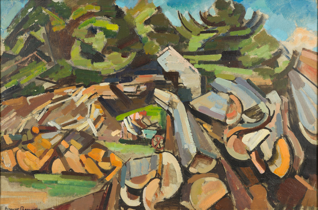 , 'Landscape with Woodchopper,' ca. 1939, Childs Gallery