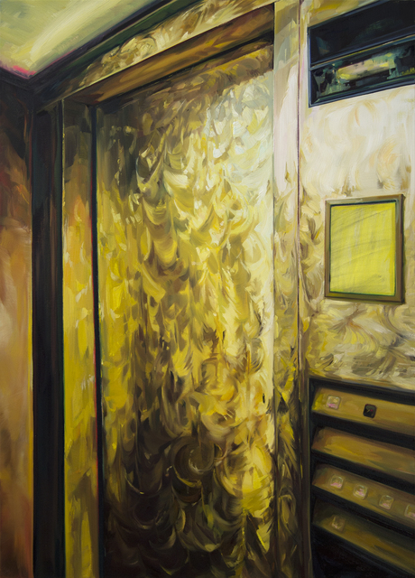 , 'Gold Express Elevator,' 2015, The Red Head Gallery