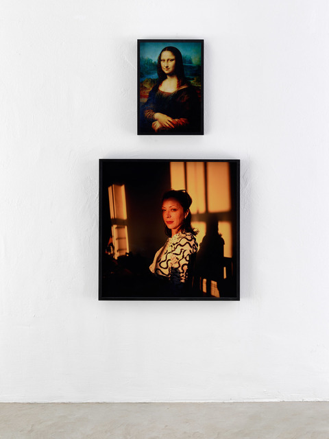 , 'La Jaconde (Mona Lisa), DaVinci. Kathleen as Mona Lisa, NYC 1993,' 1993, KEWENIG