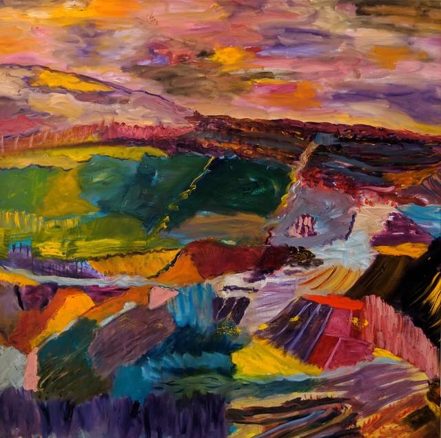 , 'Desert Sunset,' 2017, Lilienthal Gallery