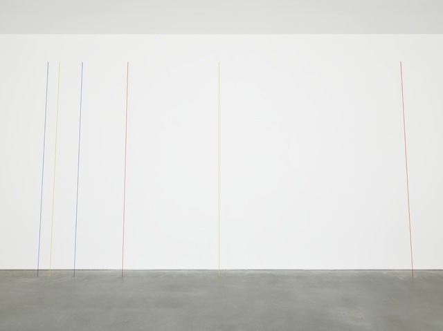 , 'Untitled (Six-part Leaning Construction),' 1985, David Zwirner