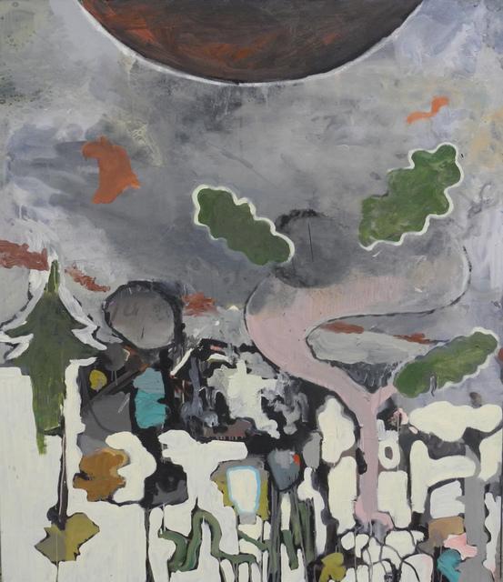 """, '""""o.T. (Landschaft)"""",' 2017, Galerie Britta von Rettberg"""