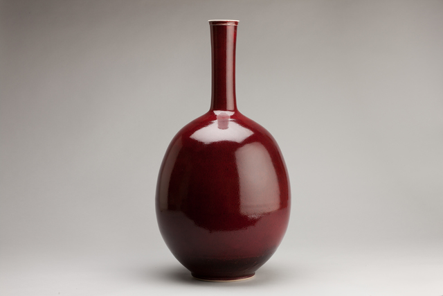 Brother Thomas Bezanson, 'Large vase, copper red glaze', n/a, Pucker Gallery