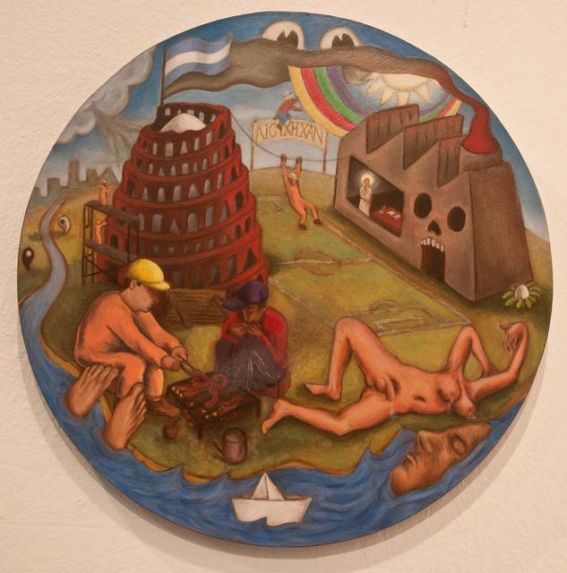 , 'Los cosos y las cosas,' 2014, Militantes