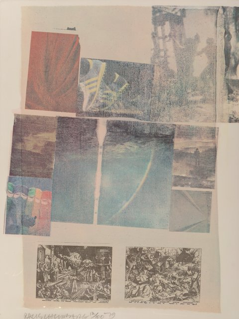 Robert Rauschenberg, 'People Have Enough Trouble Without Being Intimidated by an Artichoke', 1979, Heritage Auctions