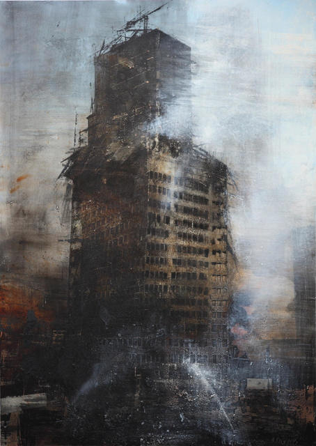 , 'The Windsor Building Burnt III,' , Sala Parés
