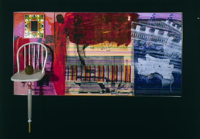 Robert Rauschenberg, 'Urban / Interior Network / ROCI VENEZUELA', 1985, Academy Art Museum