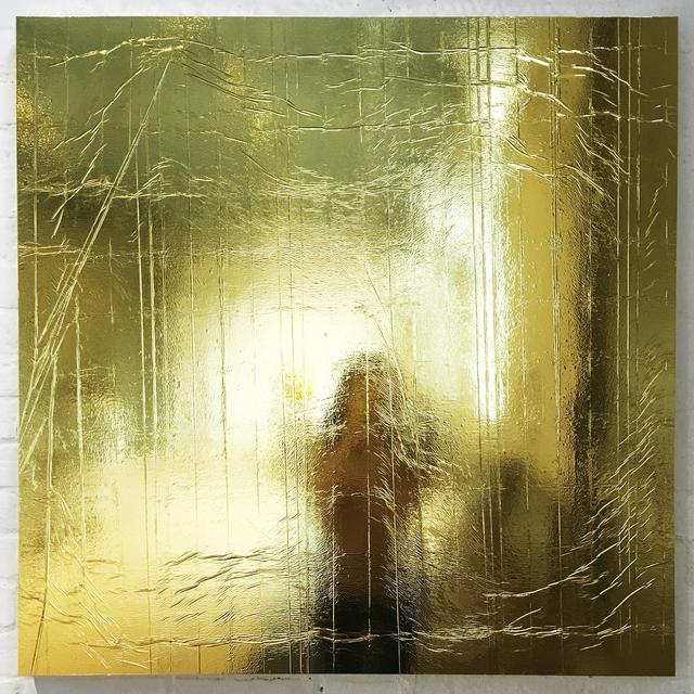 Brendon McNaughton, 'Golden Opportunity #4', 2016, Sculpture, Emergency blanket on panel, Corkin Gallery
