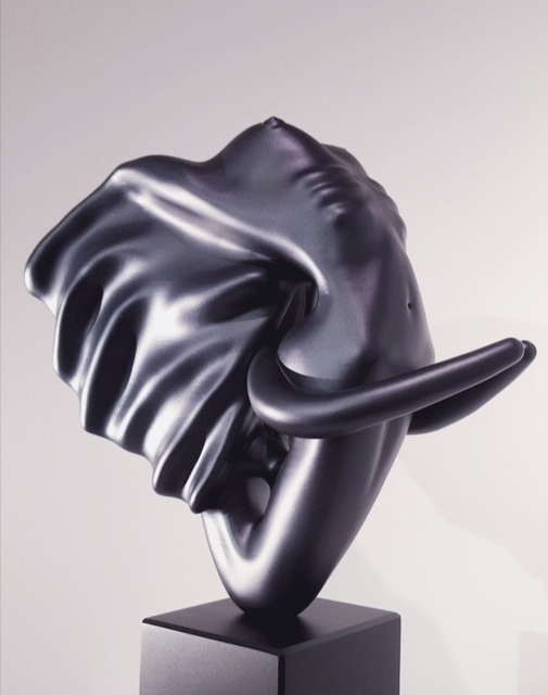 , 'Éléphantasme Noir,' 2017, Samhart Gallery