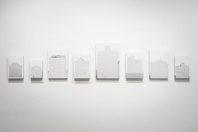 , 'Políptico Campo Cego 8 peças,' 2014, Galeria da Gávea