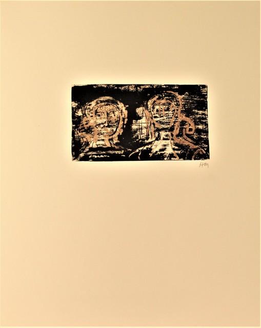 Henry Moore, 'Les Poetes, La Poesie', 1976, Print, Color lithograph, Joseph Grossman Fine Art Gallery