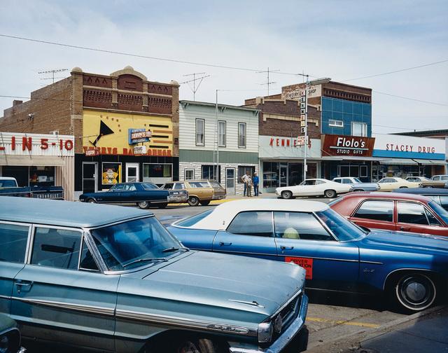 Stephen Shore, 'Main Street, Redfield, South Dakota, July 13', 1973, Phillips
