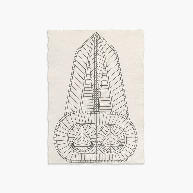 , 'Monolith Study I,' 2018, Tappan