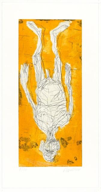 , 'Ohne Hose in Avignon II,' 2014, Galerie Sabine Knust