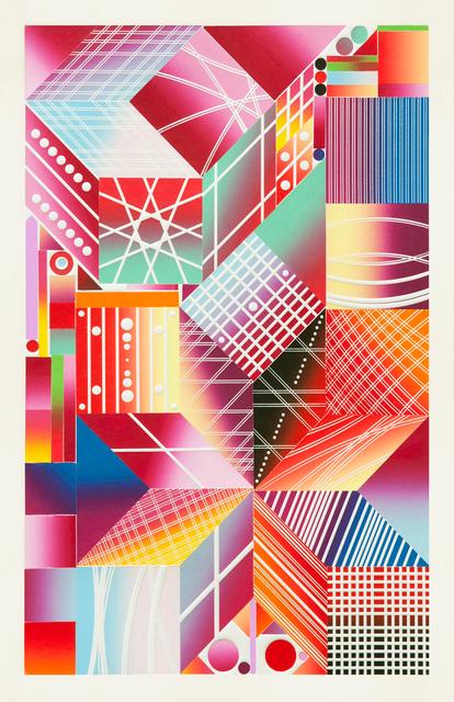 Polly Apfelbaum, 'Atomic Mystic Aura 7', 2017, Durham Press, Inc.