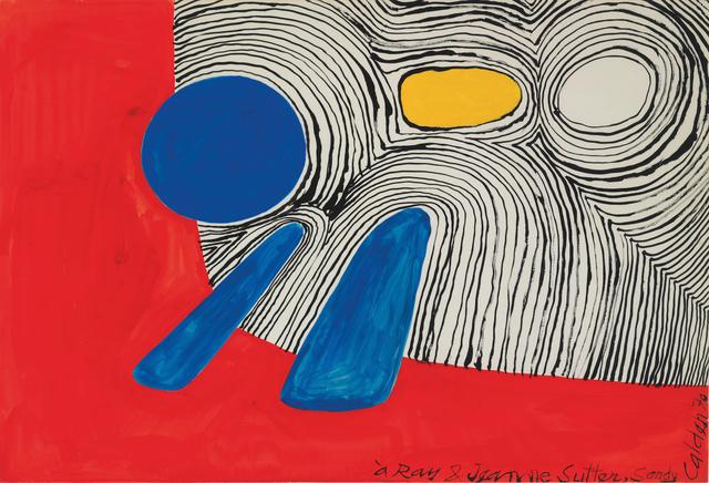 Alexander Calder, 'Composition', 1970, Stern Pissarro