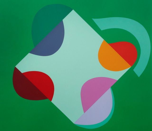 , 'Development of a Square within a Square (Green),' 1999, The Missing Plinth
