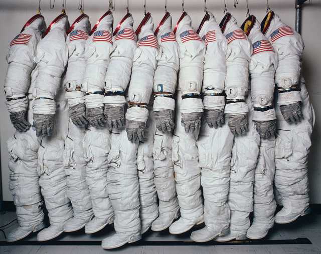 , 'Apollo Spaceflight Training Suits, Houston, Texas,' June 27-1978, Pace/MacGill Gallery