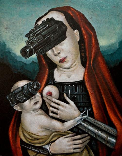 , 'The Divine Machines,' 2018, Modern Eden