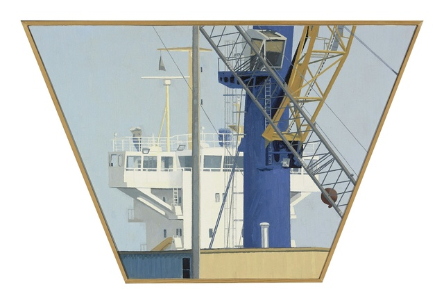 , 'bridge/crane,' 2016, Miller Yezerski Gallery