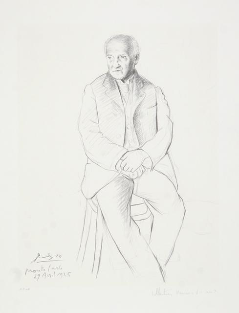 Pablo Picasso, 'Portrait du Maître de Ballet de la Scala de Milan, 1925', 1979-1982, RoGallery