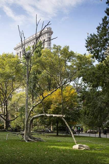 , 'Triplice (Triple),' 2011, Madison Square Park