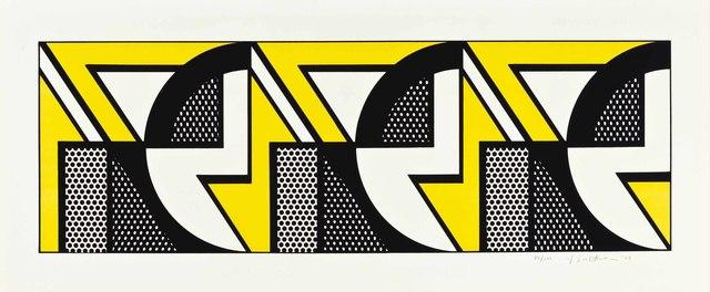 Roy Lichtenstein, 'Repeated Design', 1969, Christie's