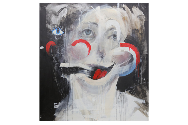Charlie Isoe, 'Red, White and Blue We Love You (Cliche Painting)', 2010, Chiswick Auctions