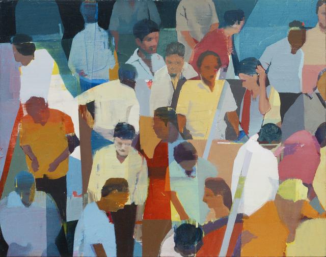 , 'Market #12,' 2018, Andrea Schwartz Gallery