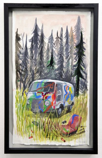 , 'Stedet vi legede,' 2016, Marie Kirkegaard Gallery