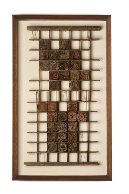 , 'Typography Drawer, Thread, Cardboard I,' 2013, Piero Atchugarry Gallery