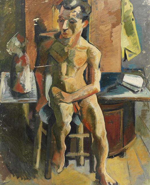, 'Nude (Male),' 1942, Pera Museum