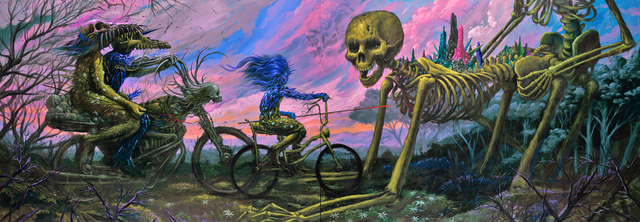 , 'The Bike Ride,' 2012, Jonathan LeVine Projects