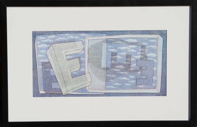 Herbert Bayer, 'Tender Picture E', 1965, RoGallery
