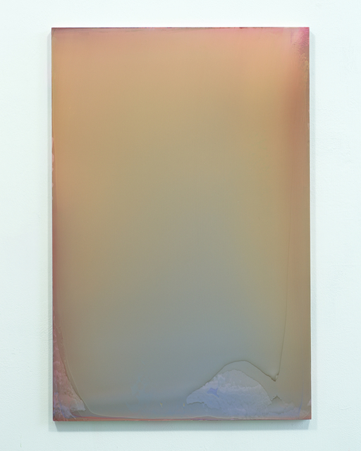 , 'Hi-Light Orange with Light Blue,' 5400, Renate Bender